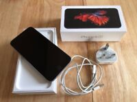 iPhone 6s, 64gb, space gray - same as new - with box and charger