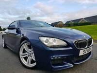 June 2012 BMW 640d M Sport Gran Coupe Twin Turbo 313bhp! Stop/Start! FBMWSH! HUGE SPEC! STUNNING CAR
