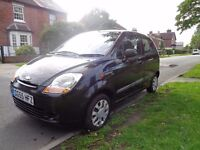 55 plate Chevrolet Matiz, 1.0L engine, great runner, low tax and insurance.