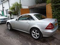 Mercedes SLK 230 low mileage