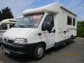 FIAT DUCATO CARIOCA CI 644 2005 4 BERTH FINANCE AVAILABLE
