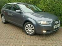 2008 AUDI A3 1.9 TDI E*FSH*PANORAMIC ROOF*R.TAX-£30+CHEAP INSURANCE*#GOLF#SEAT