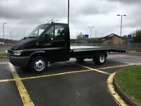 2006 Ford transit recovery truck ....... aluminium bed 16ft ...... swap .... P/X WELCOME