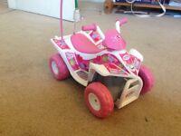 Baby Born remote control doll's quad bike
