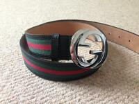 Gucci Signature Web Belt