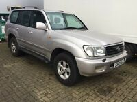1998/S Toyota Land Cruiser Amazon 4.7 VX LPG 5dr SUV 7 Seater...Starts & Drives...Bargain!!!