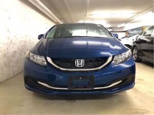 2013 Honda Civic Sedan LX 5AT - ACCIDENT-FREE, BLUETOOTH, LOW KM