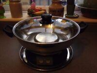 Steam Boat food cooker etc.,