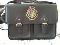 Harry Potter bundle including brand new satchel, size 6 HP trainers and Scabbers the rat teddy.