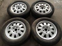 Audi 10 spoke alloy wheels