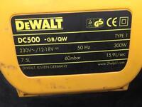 Dewalt dc500 18v vacuum