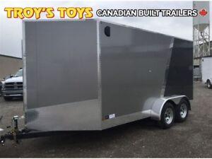 2018 Canadian Trailer Company 7X14 V-Nose Cargo Trailer