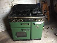 Rangemaster Classic 90 Cooker Classic Green