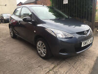 Mazda 2 1.3 TS 5dr - 2008, 12 Months MOT, 2 Lady Owners, Service History, 85K Miles Warranted, £2195