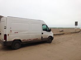 Van for sale Vauxhall Movano TD MWB high top