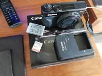 canon powershot G7X mark ll with 64gb memory card
