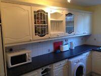 Complete kitchen unit set white