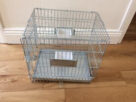 Parrot travel cage