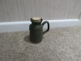 Alford Studio earthenware vinegar cruet signed