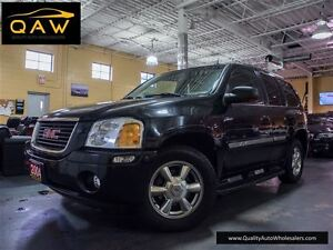 2004 GMC Envoy SLE,SLT,4WD,LEATHER,SUNROOF,FREE OF ACCIDENTS.