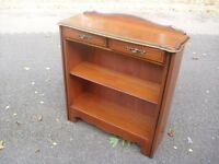 Mint Condition Lowline Cherry Mahogany Bookcase Shelves Hall Cabinet Younger Furniture