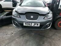 SEAT LEON FACELIFT 2009 - 13 BREAKING SPARES AIRBAG LEATHER SEATS ALLOY DOORS AXLE HUBS CORNERS