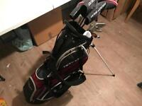 Wilson Deep Red Golf Set - Right Hand