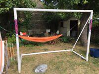 Children's football goal for the garden.