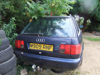 1995 Audi A6 2.8 Quattro - breaking for all spares: tow bar, exhaust, bonnet, door, boot, screen