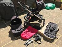 Baby Jogger City Select Pushchair - double