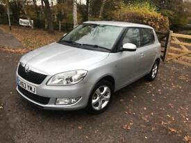 Lovely 2013 Skoda Fabia 1.2 SE Low mileage 744 Cat C 1 Year mot Excellent condition