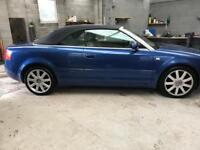 **FOR SALE** Audi A4 convertible 2003 2.4 litre V6