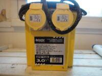 3 kVA Portable Tool Transformer 110V