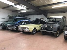 Car Storage in West Yorkshire - Free Transport*