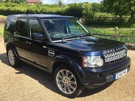 """Land Rover Discovery 4 HSE, 3.0 (255BHP) MY2012 bi-xenon 20"""" wheels, panoramic roof, 8 speed rotary"""