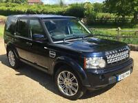 "Land Rover Discovery 4 HSE, 3.0 (255BHP) MY2012 bi-xenon 20"" wheels, panoramic roof, 8 speed rotary"