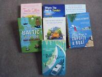 True life travel/sailing books for sale