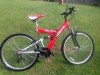 18 speed mountain bike