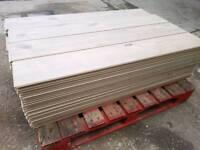 Oak effect Laminate Flooring 25sq m