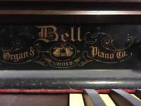 Bell pump organ 1800s