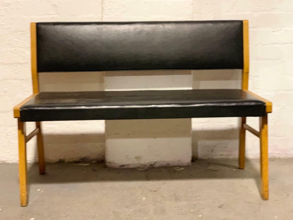 Astounding Vintage Mid Century 3 Seater Bench 2 Seater Available In Kirkintilloch Glasgow Gumtree Spiritservingveterans Wood Chair Design Ideas Spiritservingveteransorg