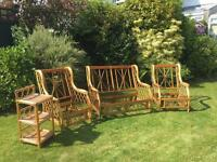 Conservatory / outdoor/ summer house Wicker Furniture