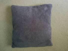 grey fleece cushions and inners