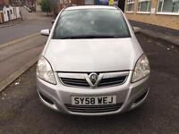 Vauxhall Zafira 1.9 CDTI Life 2009/58 Reg £1399