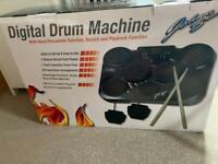 Electric drum machine