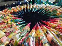 Party Sweet Treats, sweet cones,Wedding favours Special offer!