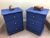 Pair of napoleonic bedside tables