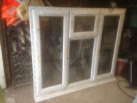 Double glazed window 1255 including cill by 1491mm.