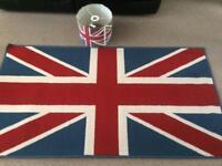 Union Jack Rug & Lampshade