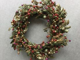 Beautiful Gisela Graham Christmas Wreath